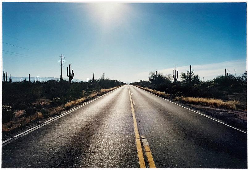 ROAD TO GUNSIGHT, HIGHWAY 86, ARIZONA, 2001