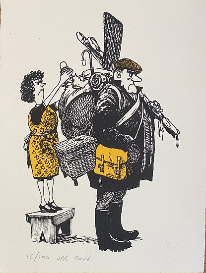 Thelwell's Well-equipped Angler