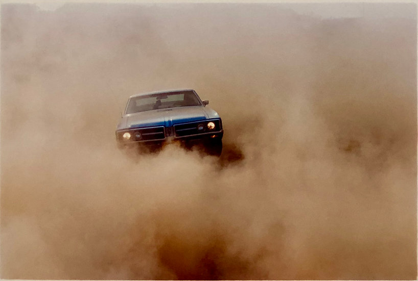 BUICK IN THE DUST II, HEMSBY, NORFOLK, 2000