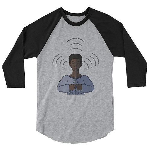 Raise The Level Man Shirt - Quarter Sleeve
