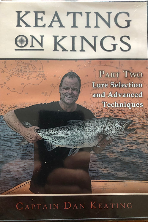 Keating on Kings Part 2, Lure Selection& Advanced Techniques DVD