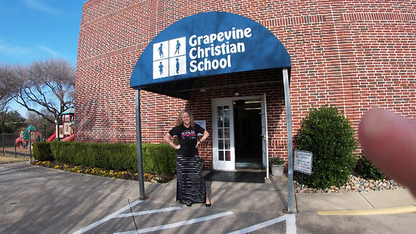 Tour of the Grapevine Christian School building.