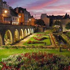 le clos du gusquel chambre hotes Vannes, ville médiévale