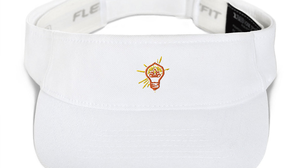 Embroidered Logo Visor