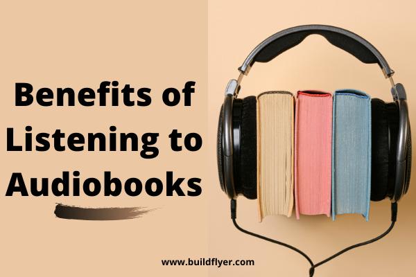 benefits of listening to audiobooks