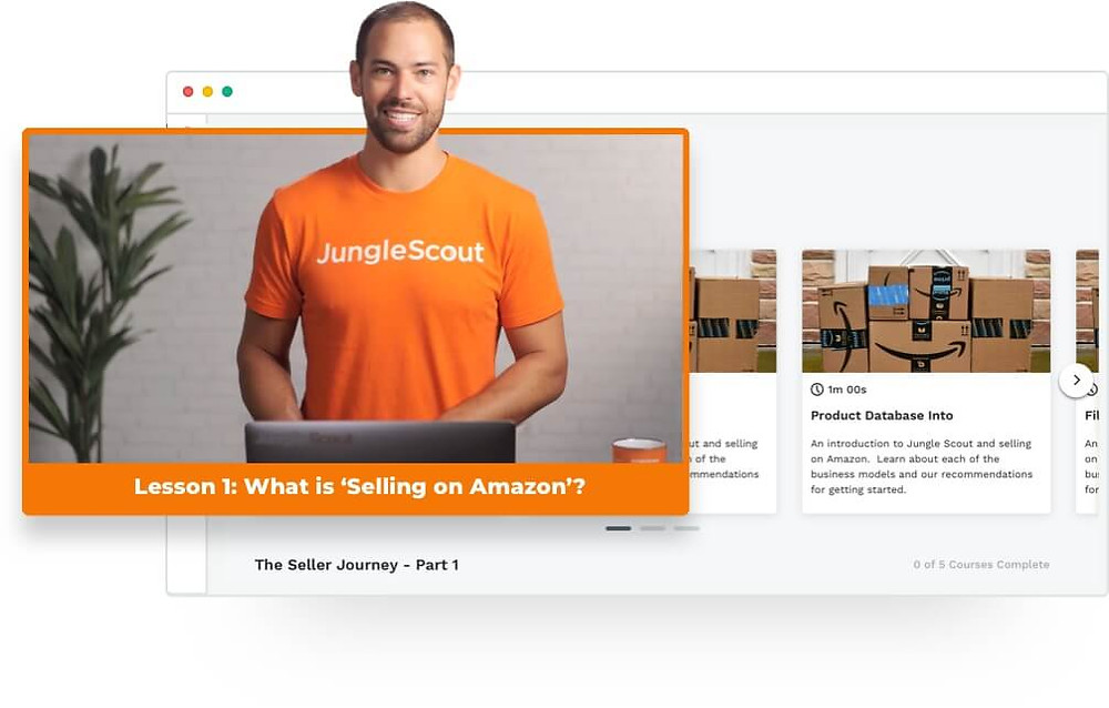get amazon fba training from junglescout's ceo