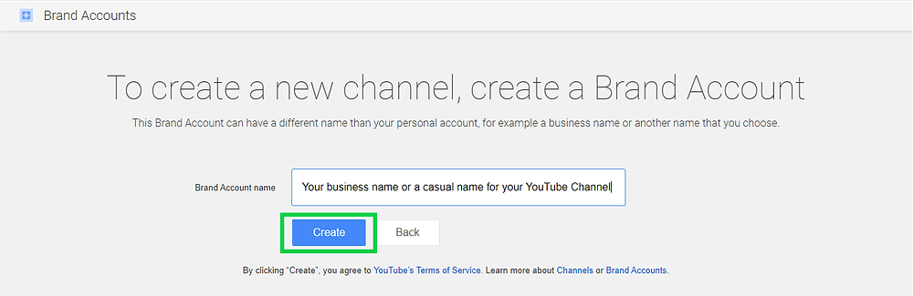 create a successful youtube channel for business