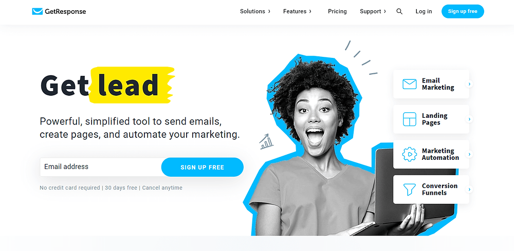 start email marketing with getresponse