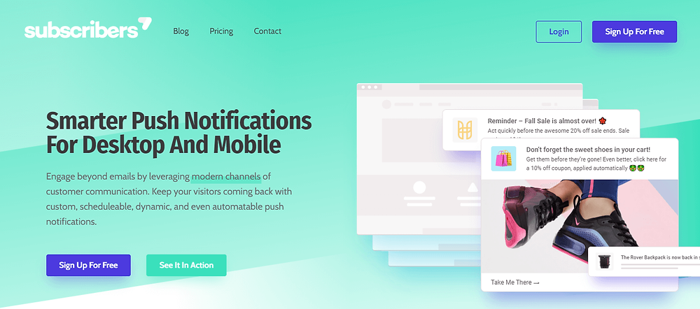 push notification for email marketing