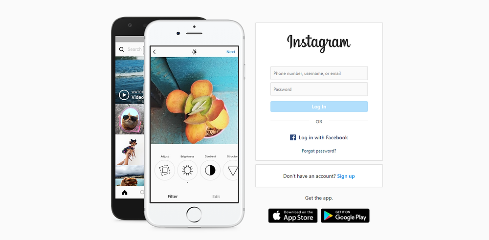 create  an instagram account to get free website traffic