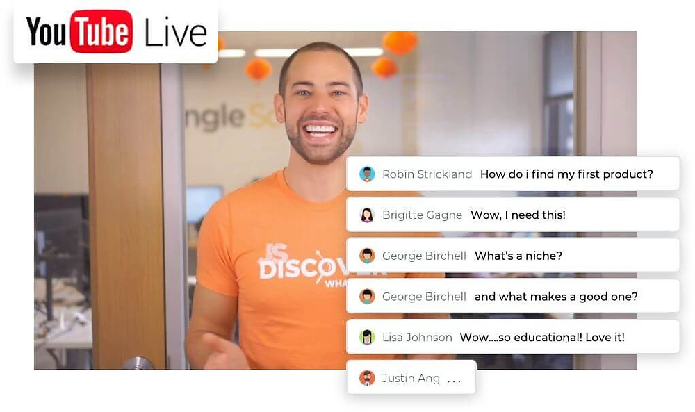 live interaction with junglescout q&a session