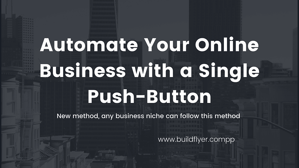 automate online business