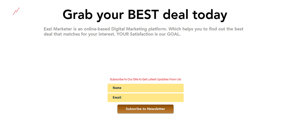 email marketing list growing method