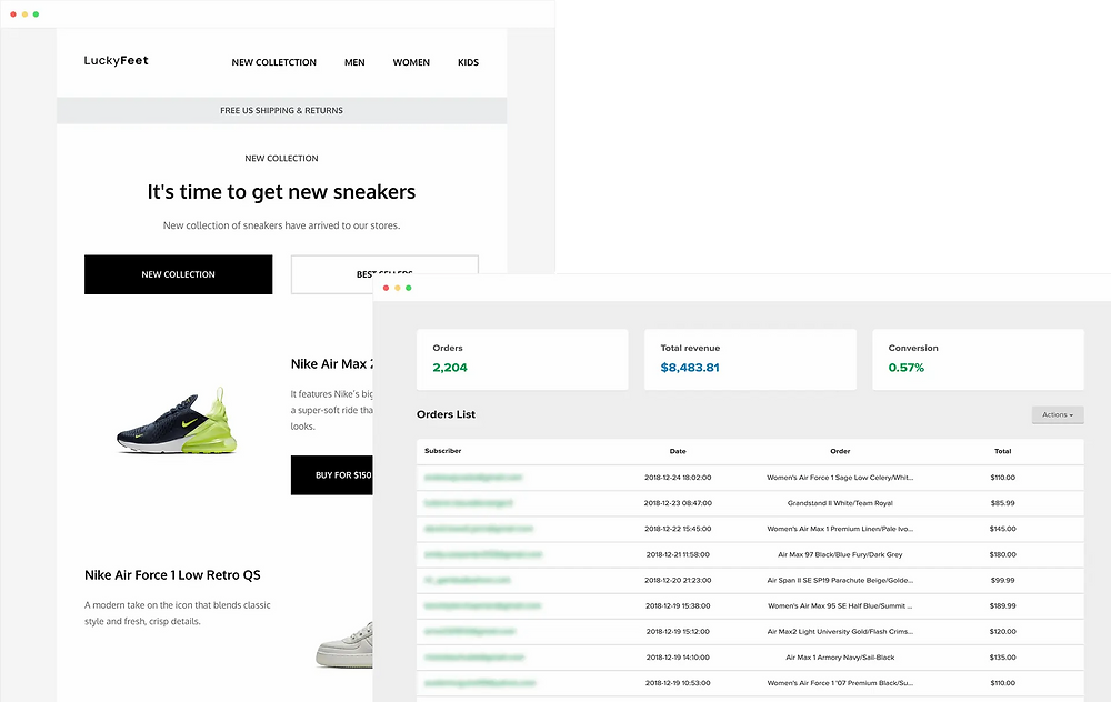 e commerce email marketing campaign