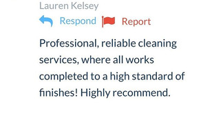 Best Cleaning Services Telford | Shrewsbury - Testimonials