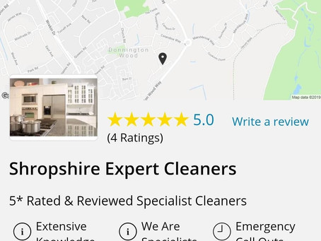 Emergency, Deep & Specialist Cleaners Shrewsbury