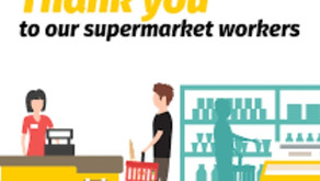 Thank you SUPERMARKET HEROES!