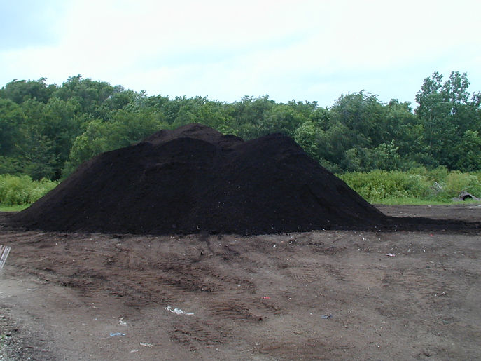 Landscape Recycling Center Compost ready