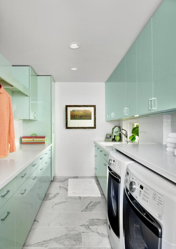 Michigan Laundry Room Custom Cabinetry.j