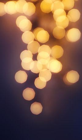 Теплые Размытые огни