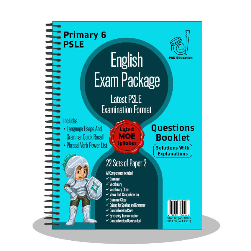 PSLE Test Papers Free Singapore