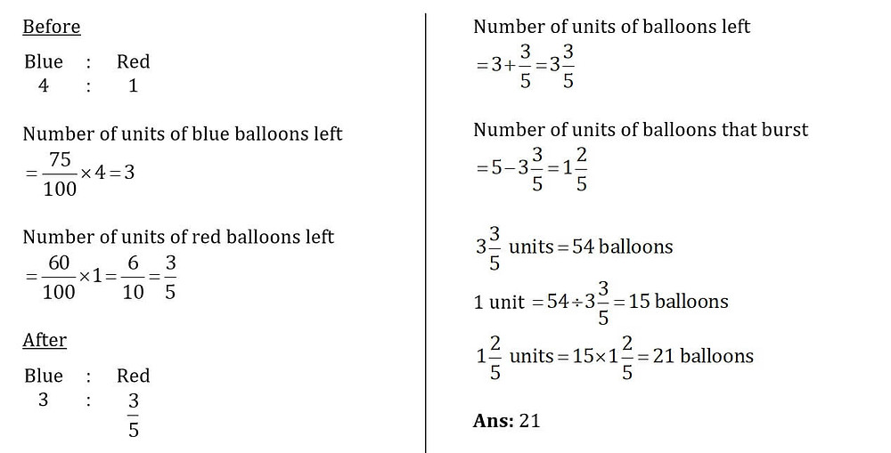 Primary School Math Test Papers Solutions