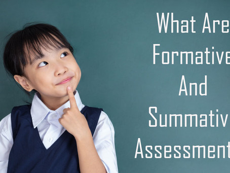What Are Formative And Summative Assessments