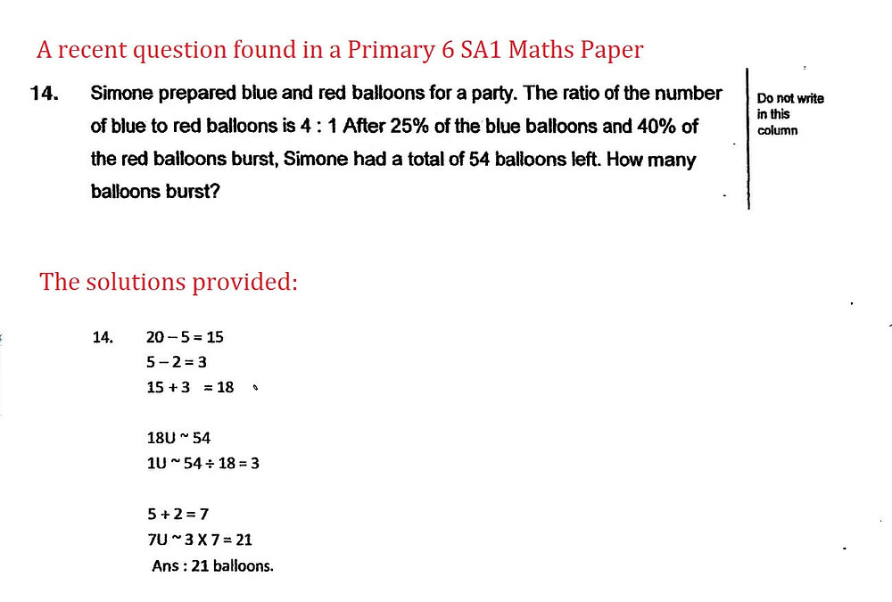 Free Exam Paper With Unclear Working
