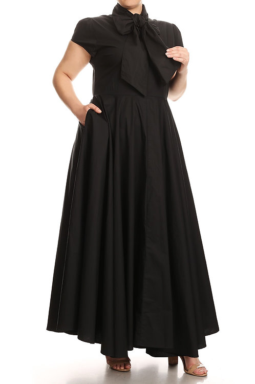 The Sanctified Pleated Dress