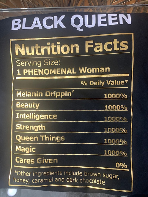 BLACK WOMEN INGREDIENTS