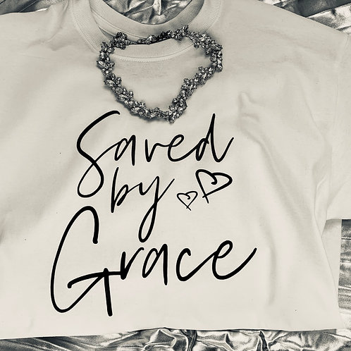 Saved by Grace T-shirt (Unisex)