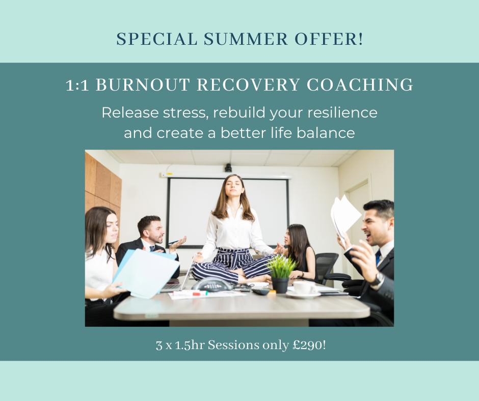 1:1 Burnout Recovery Coaching