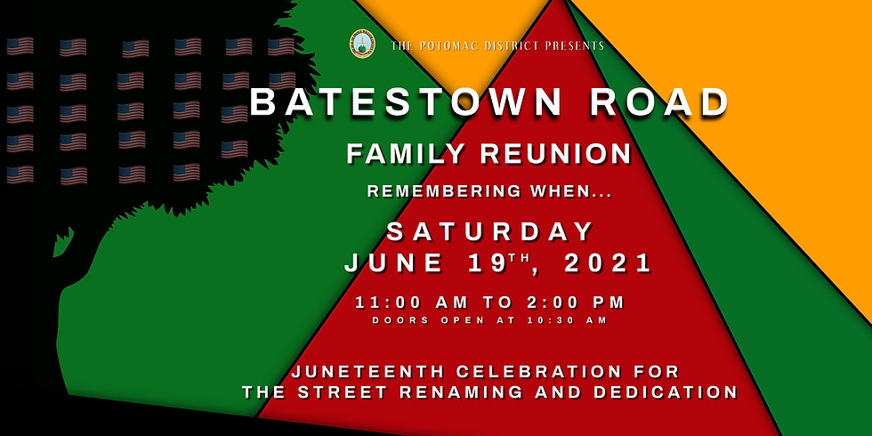 Batestown Road Family Reunion - Remembering when....