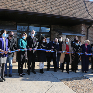 Ribbon Cutting Ceremony at Central Library in Manassas