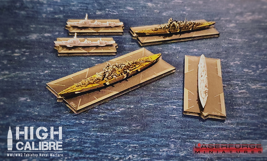 Early Access - High Calibre: Tabletop Naval Warfare - SHIPWRIGHT PACK