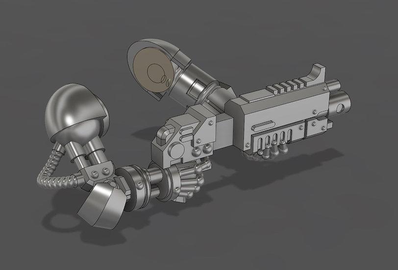 Sci-Fi Bionic Arm Sets (5) - 28/30mm - 40k Primaris Compatible