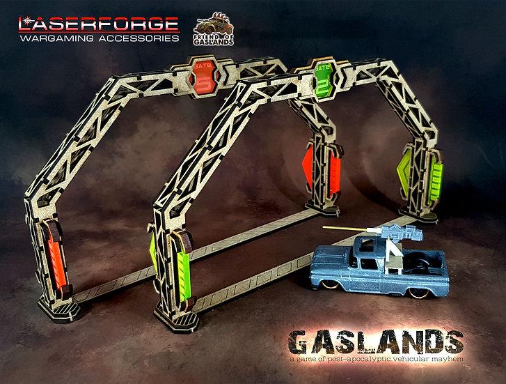 Premium Gates (6) - Designed for Gaslands