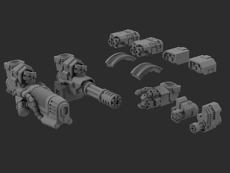 "Forgeborn Ancient; ""Redemptus"" Upgrade Pack  - 28/30mm - WH30k/40k"