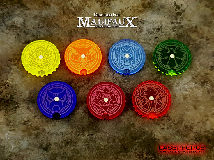 Wound Dials/Trackers (10) - Malifaux M3E Compatible