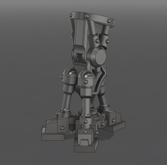 [STL] Posable Bionic Tripod Leg  - 28mm 40k Primaris compatible