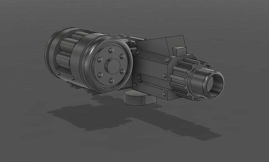 [STL] Mauler Bolter  - 28mm 30k/40k HH Mechanicum compatible