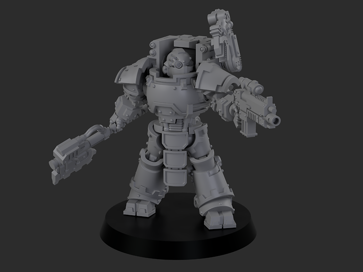 Forgeborn Forge Lord - Compatible with Warhammer 40k