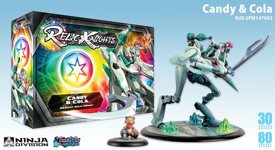 Candy & Kola Radiant Relic Knight