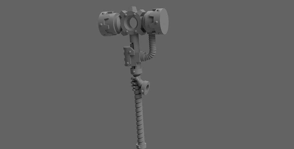 [STL] Cognus Thunder Hammer - 28mm 40k Primaris compatible