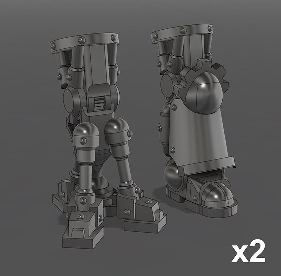 Sci-Fi Bionic Leg Set (4) - 28/30mm - 40k Primaris Compatible