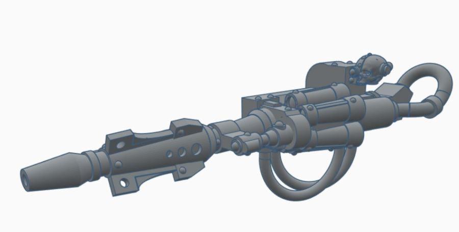 [STL] Particle Lance - 28mm 30k/40k HH Mechanicum compatible