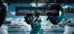 hyperactiveband landing page