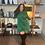 Thumbnail: Asymmetrical Sweatshirt Dress