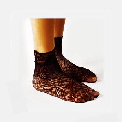 Big Diamond Fishnet Socks
