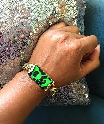 Animal print Link Bracelet